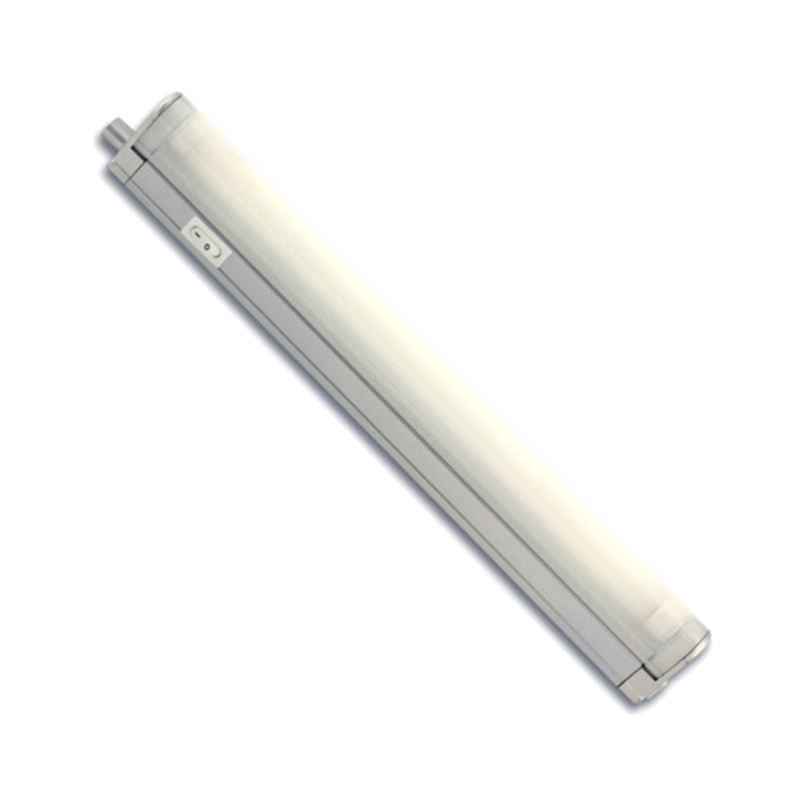 Corp de iluminat cu neon, 8 W, T5, Argintiu shopu.ro