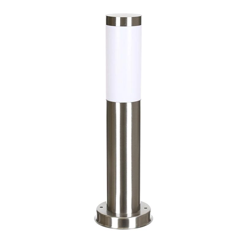 Corp iluminat Livia, 45 cm, E27, IP44, otel inoxidabil, Argintiu shopu.ro