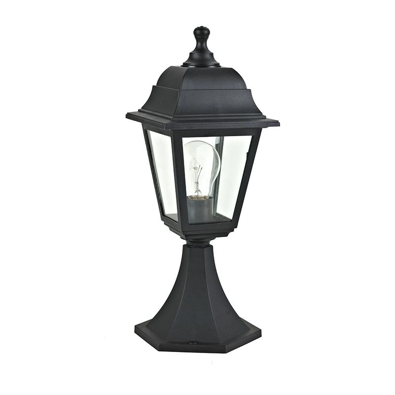 Corp iluminat Sima, 6000K, E27, IP65, plastic, Negru shopu.ro