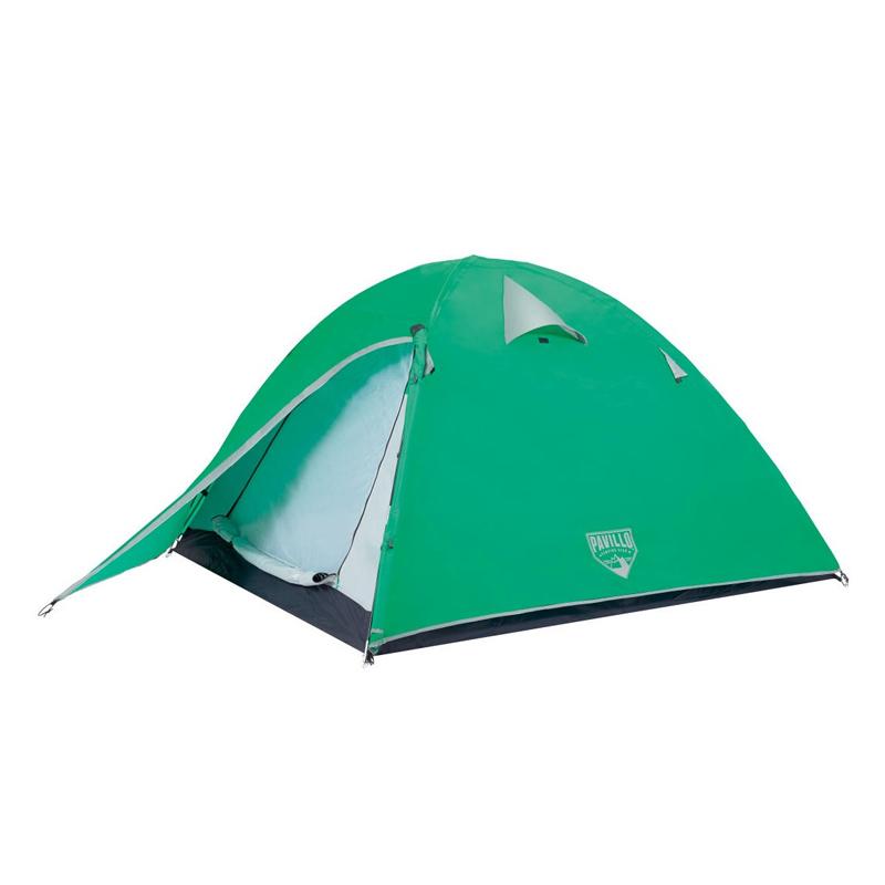 Cort camping 2 persoane Bestway Pavilo Glacier Ridge, poliester, 200 + 70 x 200 x 120 cm 2021 shopu.ro