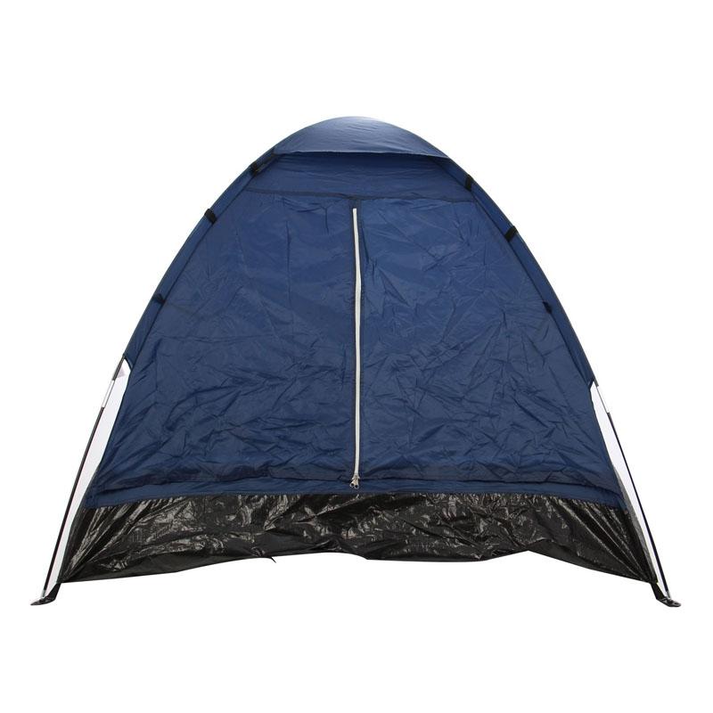 Cort camping 2 persoane D20004, poliester, 200 x 140 x 100 cm 2021 shopu.ro