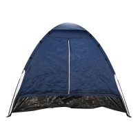 Cort camping 2 persoane D20004, poliester, 200 x 140 x 100 cm