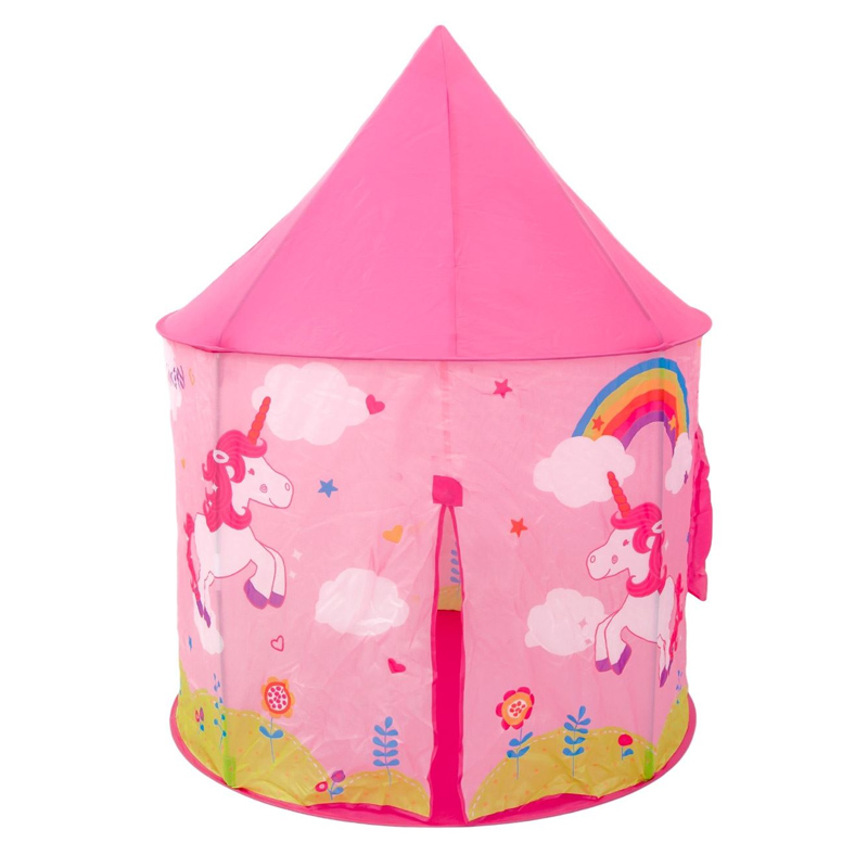 Cort pentru fetite, 100 x 100 x 135 cm, model unicorn, 3 ani+ 2021 shopu.ro
