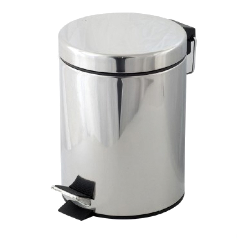 Cos de gunoi Bohmann, 8 litri, Argintiu 2021 shopu.ro