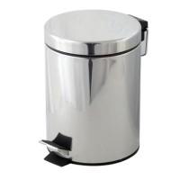 Cos de gunoi Bohmann, 12 litri, Argintiu