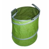 Cos pliabil pentru frunze Top Garden, 92 l, textil 600 D, Verde