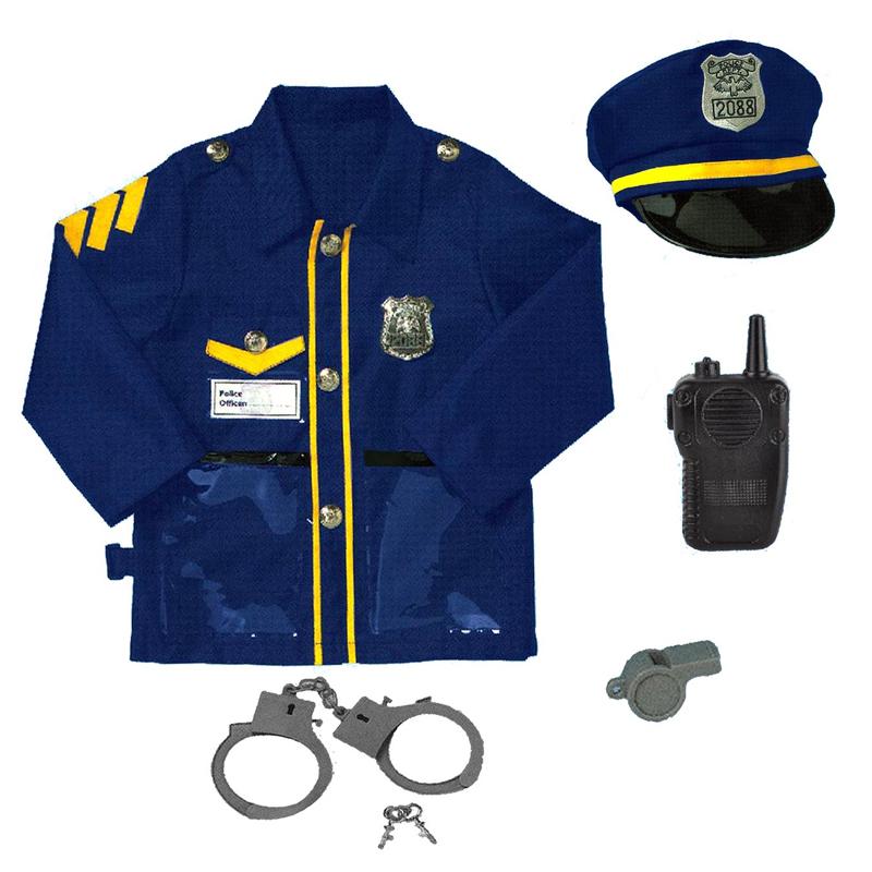 Costum agent de politie Le Sheng, accesorii incluse, 3 ani+ 2021 shopu.ro