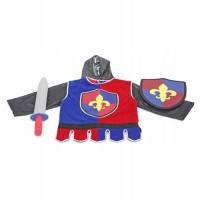 Costum de carnaval pentru copii Cavaler, 3-6 ani