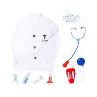 Costum doctor pentru copii, 3-7 ani, accesorii incluse