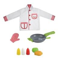 Costum pentru copii My Little Chef, accesorii incluse, 3 ani+