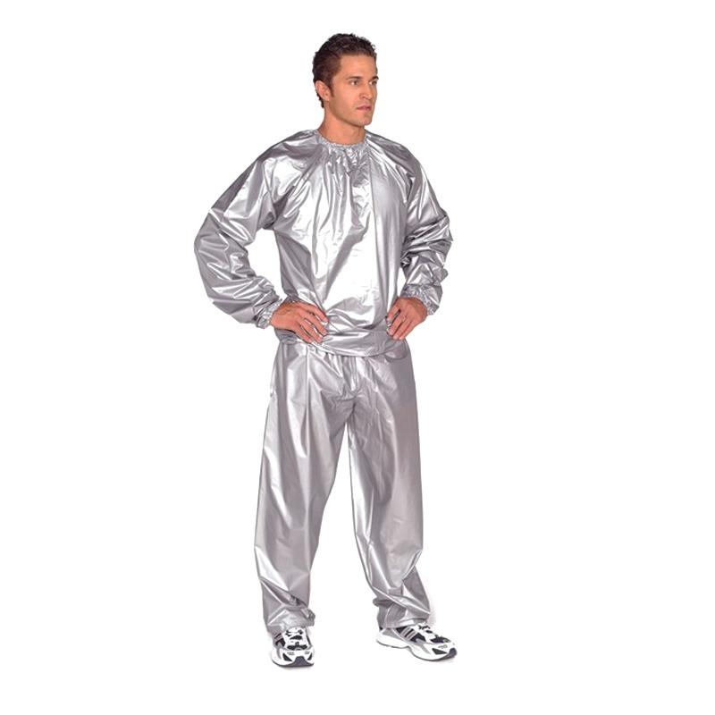 Costum sauna pentru slabit, guler elastic, marime universala 2021 shopu.ro