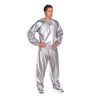 Costum sauna pentru slabit, guler elastic, marime universala