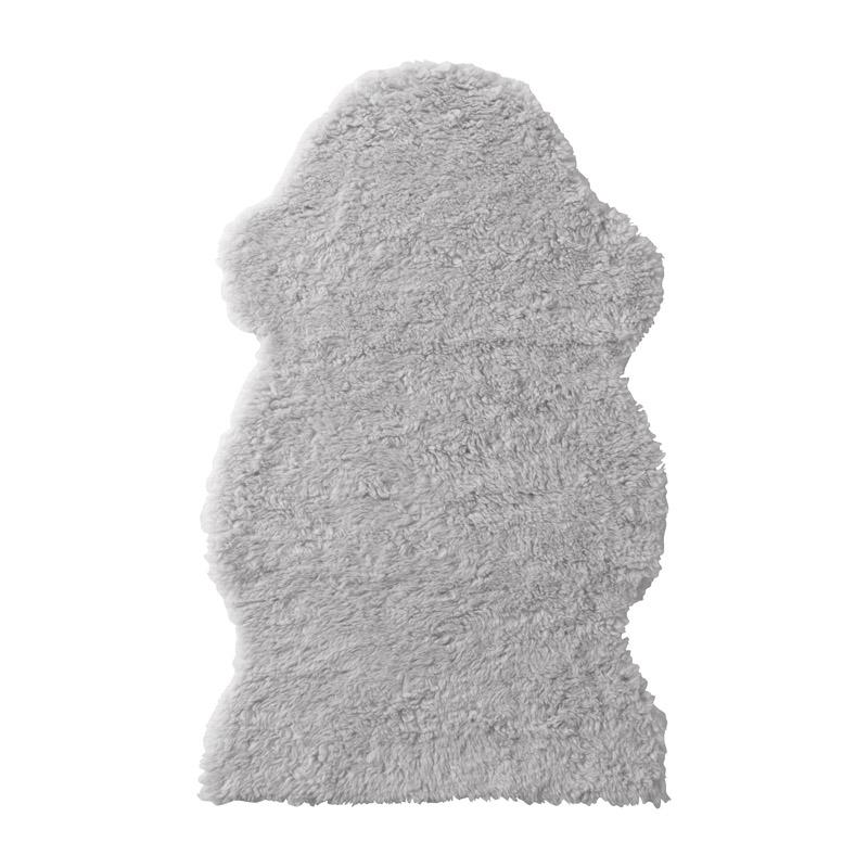 Covor moale poliester, 100 x 60 cm, gri 2021 shopu.ro
