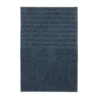 Covor poliester pentru baie, 40 x 60 cm, Bleumarin