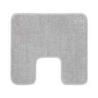 Covor poliester pentru baie, 55 x 60 cm, Gri