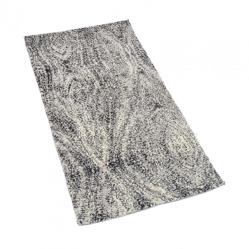 Covor microfibra Heinner, 160 x 230 cm, poliester, spate bumbac, model dune shopu.ro