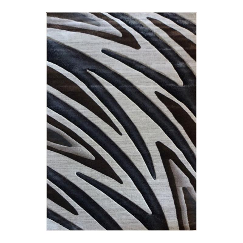Covor modern Geo Hand Carved, 120 x 160 cm, polipropilena, model abstract, Multicolor shopu.ro