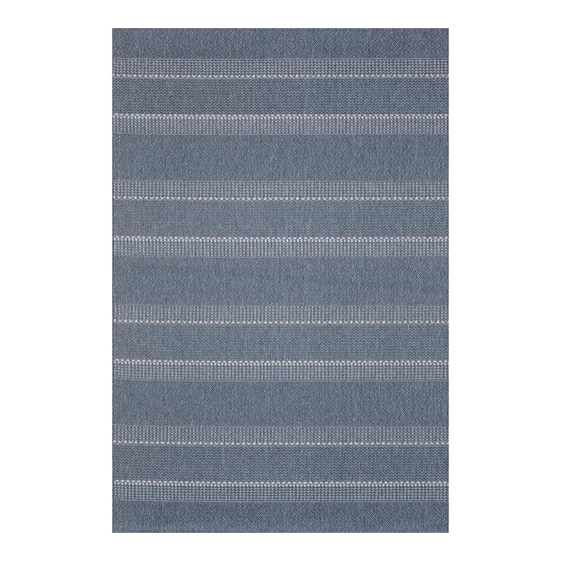 Covor modern Sintelon Adria, 120 x 170 cm, polipropilena, model sisal, Albastru 2021 shopu.ro