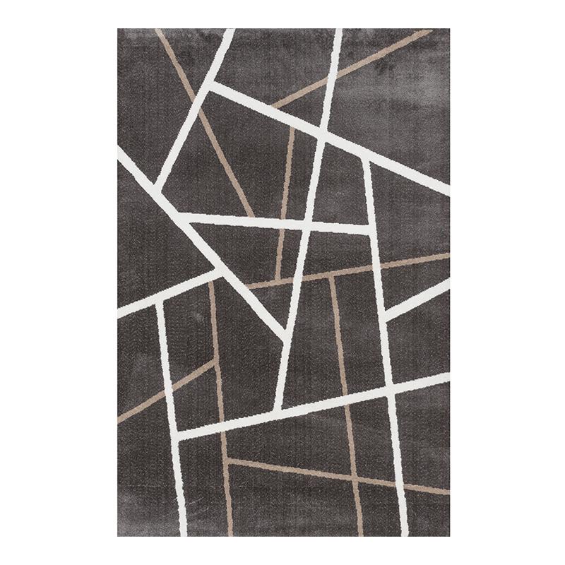 Covor modern Sintelon Creative, 160 x 230 cm, poliester, 179200/m2, model forme geometrice, Multicolor 2021 shopu.ro