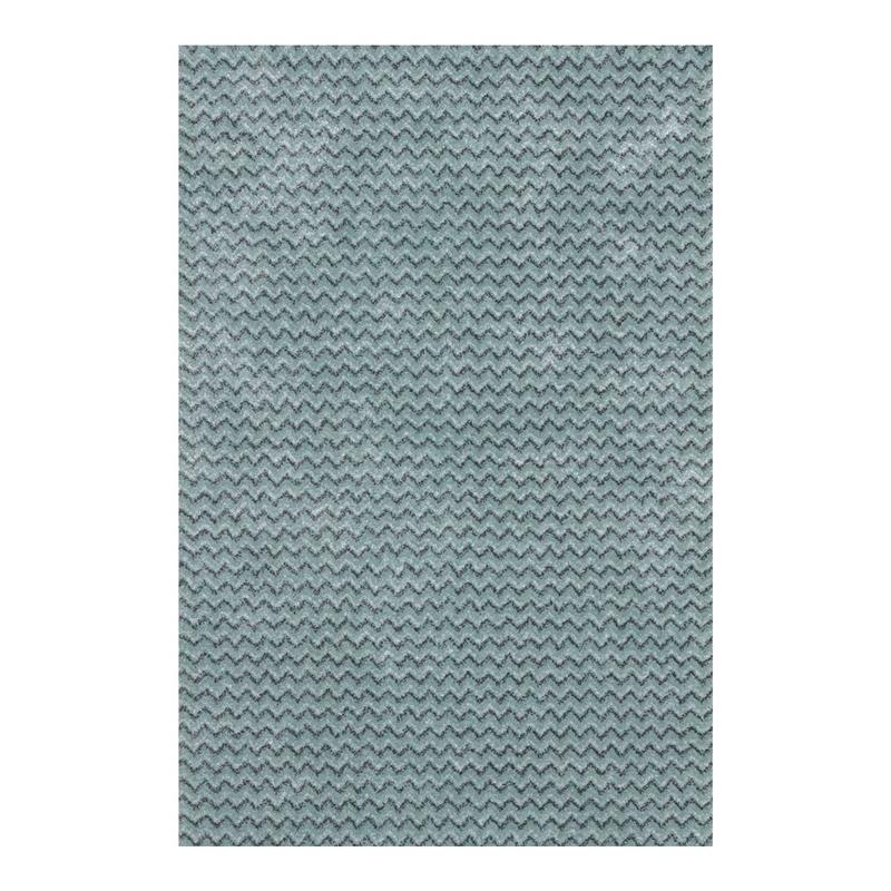 Covor modern Sintelon Stage, 80 x 150 cm, polipropilena/poliester, model elegant, Albastru/Gri 2021 shopu.ro