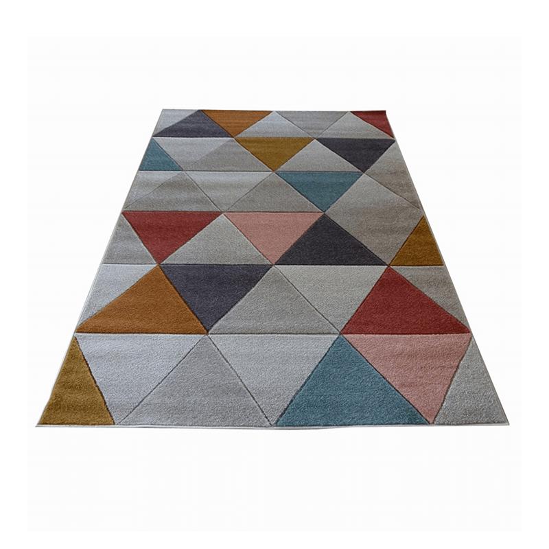 Covor modern Tribeca Hand Carved, 160 x 220 cm, polipropilena, Multicolor shopu.ro