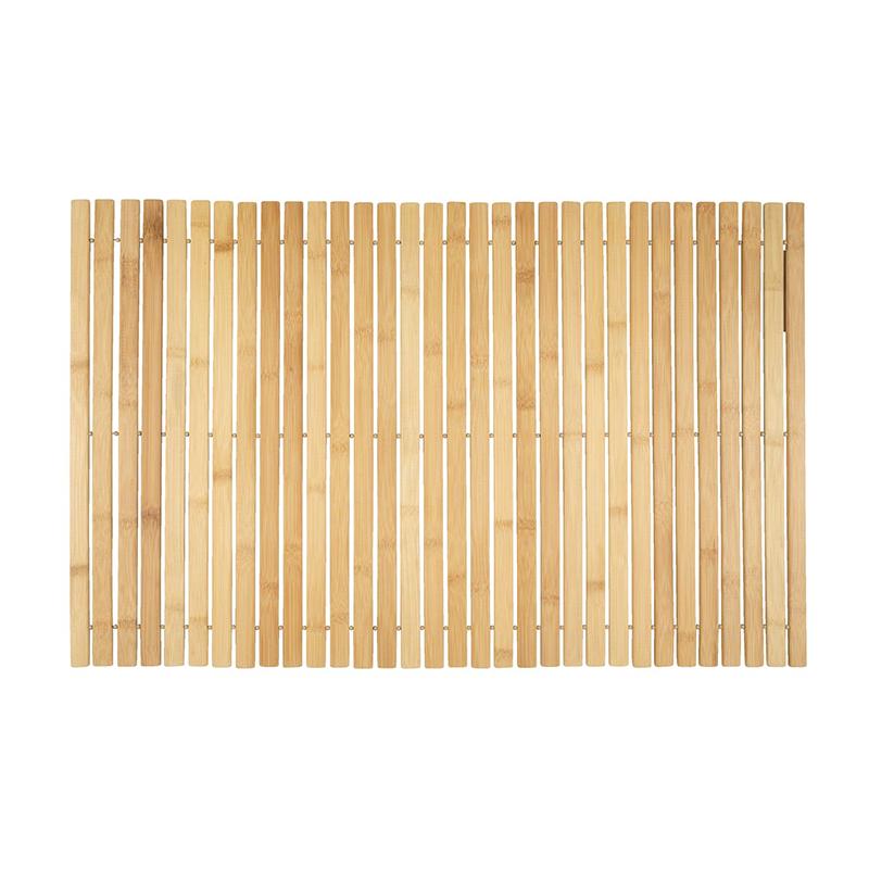 Covor pentru baie, 50 x 80 cm, bambus, Bej 2021 shopu.ro
