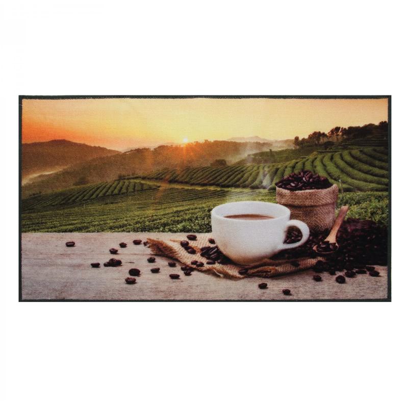Covoras bucatarie Coffee Sun, dreptunghiular, 67 x 120 cm