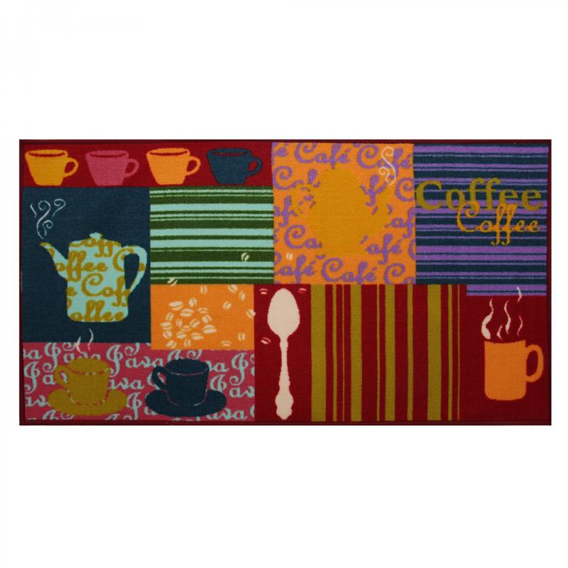 Covoras bucatarie Coffee, dreptunghiular, 67 x 120 cm 2021 shopu.ro