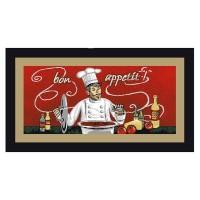 Covoras bucatarie Davo Pro Chef, dreptunghiular, multicolor, 67 x 120 cm