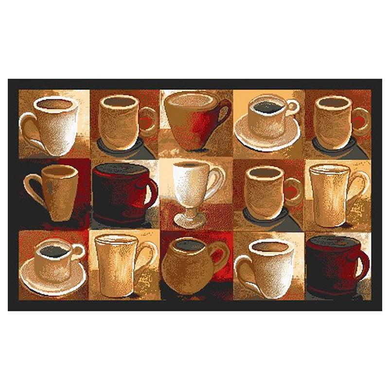 Covoras bucatarie Davo Pro Cups, dreptunghiular, 50 x 80 cm 2021 shopu.ro