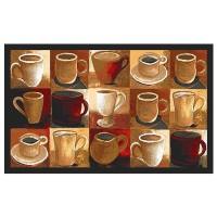 Covoras bucatarie Davo Pro Cups, dreptunghiular, 50 x 80 cm
