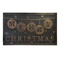 Covoras intrare Merry Christmas, 76 x 46 cm, material PVC