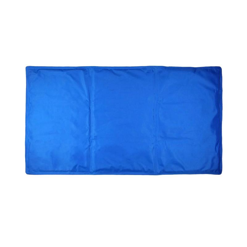 Covoras racoritor pentru catei Cool Pet, 90 x 50 cm, Albastru 2021 shopu.ro