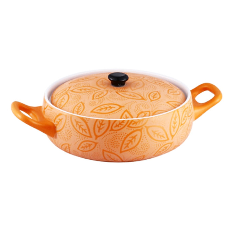 Cratita ceramica Vabene, 2 l, 23 cm, capac ceramica 2021 shopu.ro