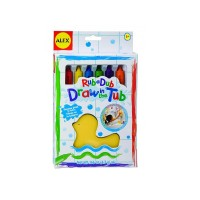Creioane de baie cu burete
