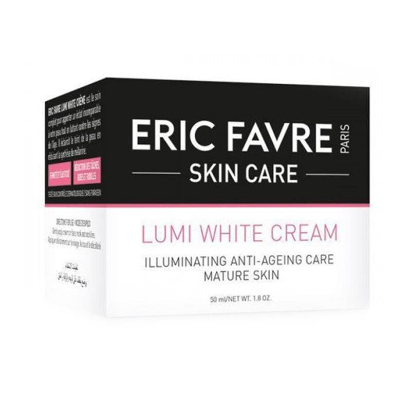 Crema antiage depigmentanta Lumi-White Eric Favre Skin Care, 50 ml 2021 shopu.ro