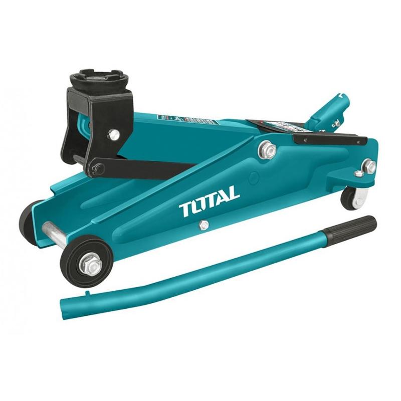 Cric hidraulic de podea Total, 3 tone, inaltime 275 - 410 mm, tip crocodil 2021 shopu.ro
