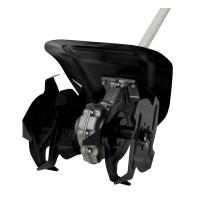 Cultivator pentru motocoasa Craft Tec, 28 mm x 9T, adaptor inclus