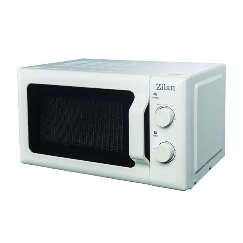 Cuptor cu microunde Zilan, 20 l, 700 W, mecanic