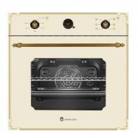 Cuptor electric incorporabil Studio Casa Parma Rustic, 1500 W, 52 l, 6 functii, Timer, Termostat, Crem