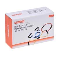 Curele cu manere pentru antrenament Liveup, maxim 130 cm