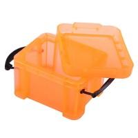 Cutie depozitare tipsuri P111, marime mica, portocaliu