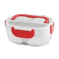 Cutie electrica pentru alimente Beper, 40 W, 450/1000 ml, Alb/Rosu