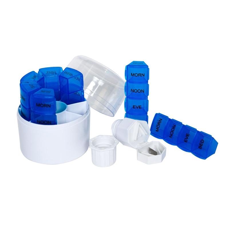 Cutie organizare medicamente, 7 coloane