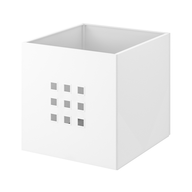 Cutie pentru depozitare reviste, 33 x 37 x 33 cm, Alb 2021 shopu.ro
