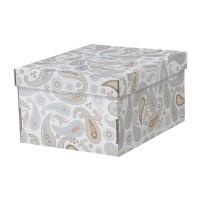 Cutie pentru depozitare, 26 x 32 x 17 cm, model floral