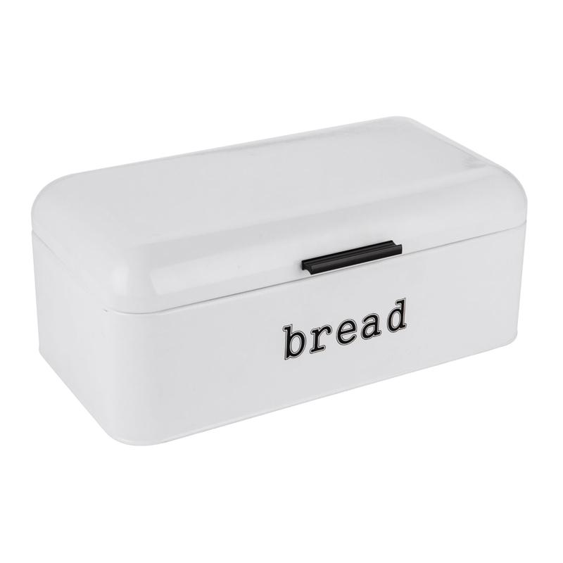 Cutie metalica pentru paine, 42 x 24.5 x 16.5 cm, mesaj Bread 2021 shopu.ro