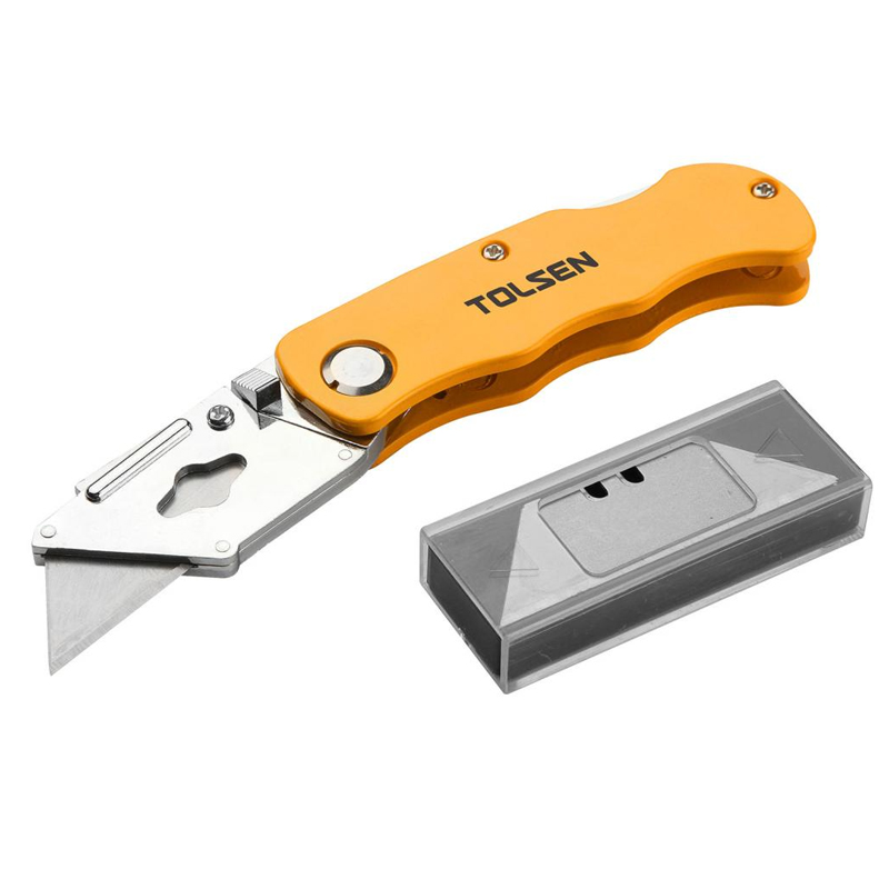 Cutter utilitar Tolsen, 5 lame incluse shopu.ro