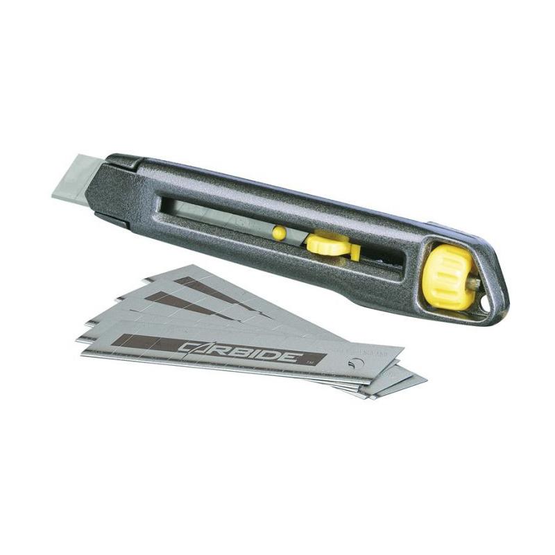 Cutter metalic Interlock Stanley, 18 mm shopu.ro