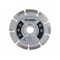 Disc diamantat D125S Stern, taiere uscata, 125 mm